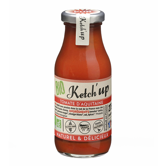 bouteille ketchup tomate bio
